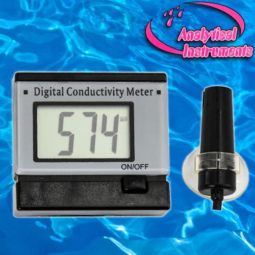 Aquarium Conductivity Meter : Ec meter conductivity water aquarium