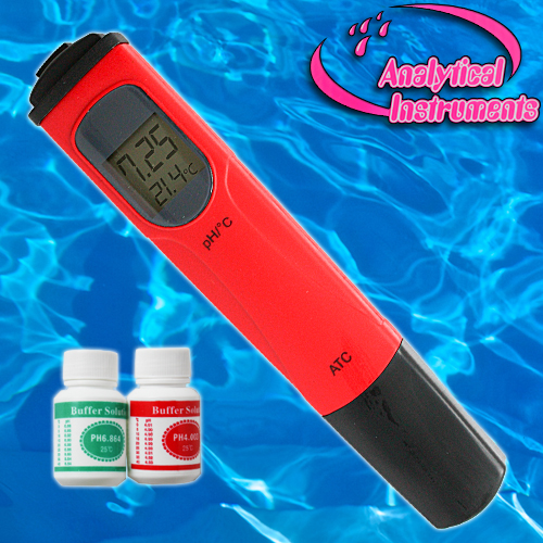 Ph meter ph metre testeur piscine aquarium eau fr p03 for Ph metre piscine